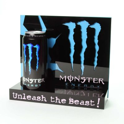 monster energy blue interchangeable unit