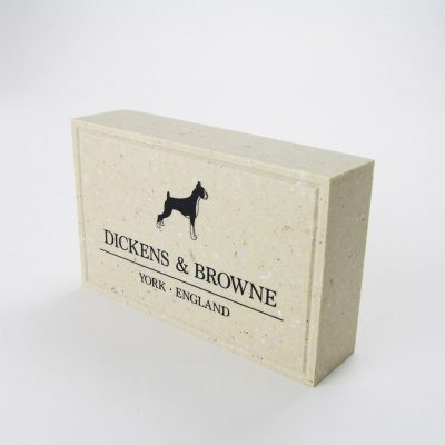 dickens & browne presentation marble effect block