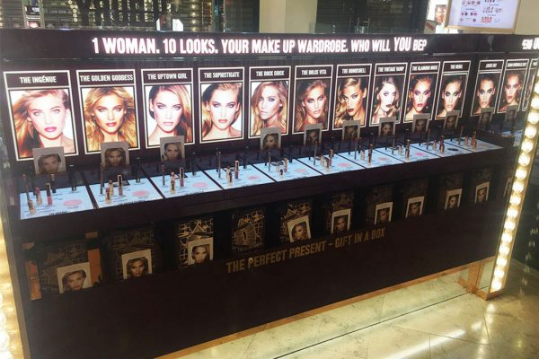 charlotte tilbury 10 looks gallery in store
